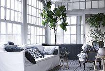 Living Room/ Black & White / Living Room/ Black & White