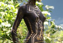 Body Painted Women