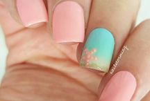 Nails♡ Beach style♡