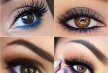 olhos castanhoa