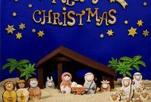 Gingerbread House Nativity Scenes