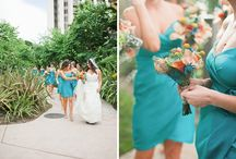 Color Inspiration: Sea Foam, Teal, Rust, and Peach