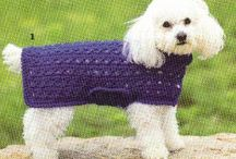 Crochet Puppy Love / If it is for your pet, it goes here:  collars, coats, etc.  Also have kitty stuff and a few knit patterns. :) / by Sherry Conrad