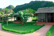 Homestay in Viet Hai village - Cat Ba island / Built in the style of traditional village houses, rooms are clean and simply furnished. A 5 km walk from Viet Hai homestay will take guests to the sea, where fishing and swimming can be enjoyed. Trekking trips to the mountain caves and forests can be arranged at the tour desk.