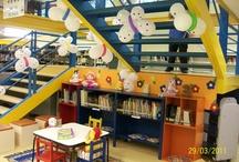 espaços internos Educação Infantil / ideias de como organizar  com/para as crianças os espaços na Educação infantil