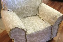 Slipcloth chair cover