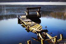 Miejsca nad jeziorami - kładki / O pomysłach wędkarzy.