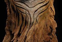 timber carving