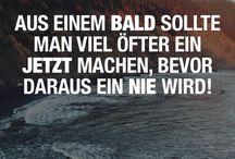 Zitate, Sprüche & Co.