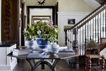 Entryway Envy / The entryway/foyer of your home is the first place visitors see. These entryways have the perfect elements to an inviting space.