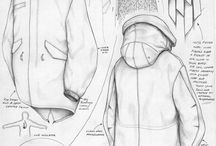 Technical drawing fashion