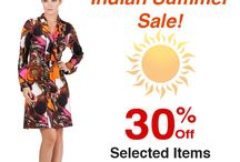 Hurry, Only 2 Days Left! / Indian Summer Sale 30% Off Selected Items Plus FREE Shipping!