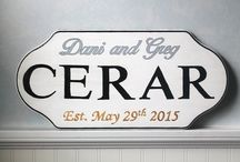 Established Wedding Plaques
