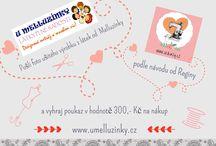 Šij s Regí, střihni do Mellu! / Pošli foto ušitého výrobku z látek od Melluzínky, podle návodu od Reginy (www.sicikurzy.cz) a vyhraj poukaz v hodnotě 300,- Kč na nákup www.umelluzinky.cz Soutěž trvá od 23.září-22.října 2015. Fotogragie výrobků zasílejte na mailovou adresu info@sicikurzy.cz nebo umelluzinky@email.cz