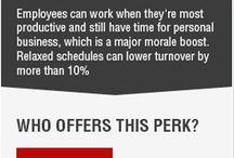 Workplace Sweeteners / Employee perks and sweeteners that every candidate looking for at their workplace.