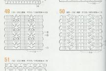 hæklediagrammer