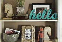 home - bookshelves / by Jessica Clayton