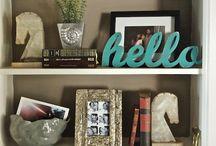 home - bookshelves