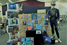 Sea Week / Library display for Sea Week 2017