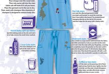 Scrubs: How-To Guides / What better way to give back to our customers than to create unique and creative guides that will help them every day. Check out these infographic guides!  / by Scrubs By Uniform Advantage