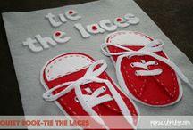 tie the laces