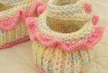 Easy knitting booties free