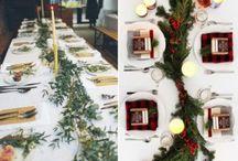 Ako vyzdobiť vianočný stôl