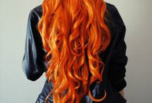 Orange Hairspiration / by p!ay hair lounge