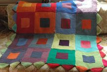 Tricot - couvertures ; Knits - blankets