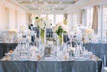 Classic white modern wedding / Classic white modern wedding