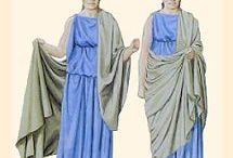 kostýmy - antika