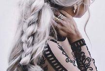 Rengarenk saç