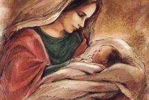 Мать дитя картины
