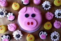 Gâteau Léa 2 ans