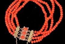 Antique Natural Red Coral
