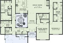 House Plans / by Kimberlee LaMotte-Tovar
