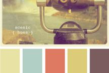 Color / Beautiful color swatches. Inspirational.