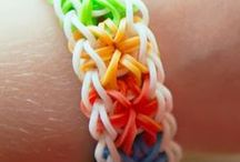 Loom / Met elastiekjes leuke dingetjes maken