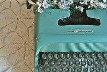 Mint & Green Typewriters & Sewing Machines & Accessories