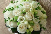 Morsiuskimppu / Kukkakimppuja, bride bouquet