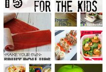 Lunch ideas for the kiddos