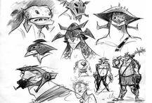 Cartoon Character Desing