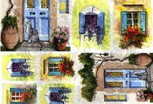 Дома и улицы для Жанны