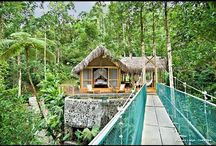 Eco-lodges/hideaways