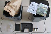 Bokashi composting / Using Bokashi EM to ferment kitchen waste