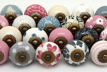 Competition Winners / Stunning Sets of ceramic door knobs given beautifully evocative names by our customers
