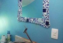 como decorar com mosaico