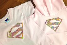 Kids clothes / Personalised kids clothing.   You can have anything you want on them, and there's no minimum order quantity  www.redhotsource.com