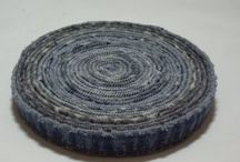 Crafting--Denim Upcycle / Crafts to recycle denim