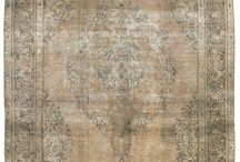 Vintage Persian Rugs - Overdyed genuine old Persian rugs